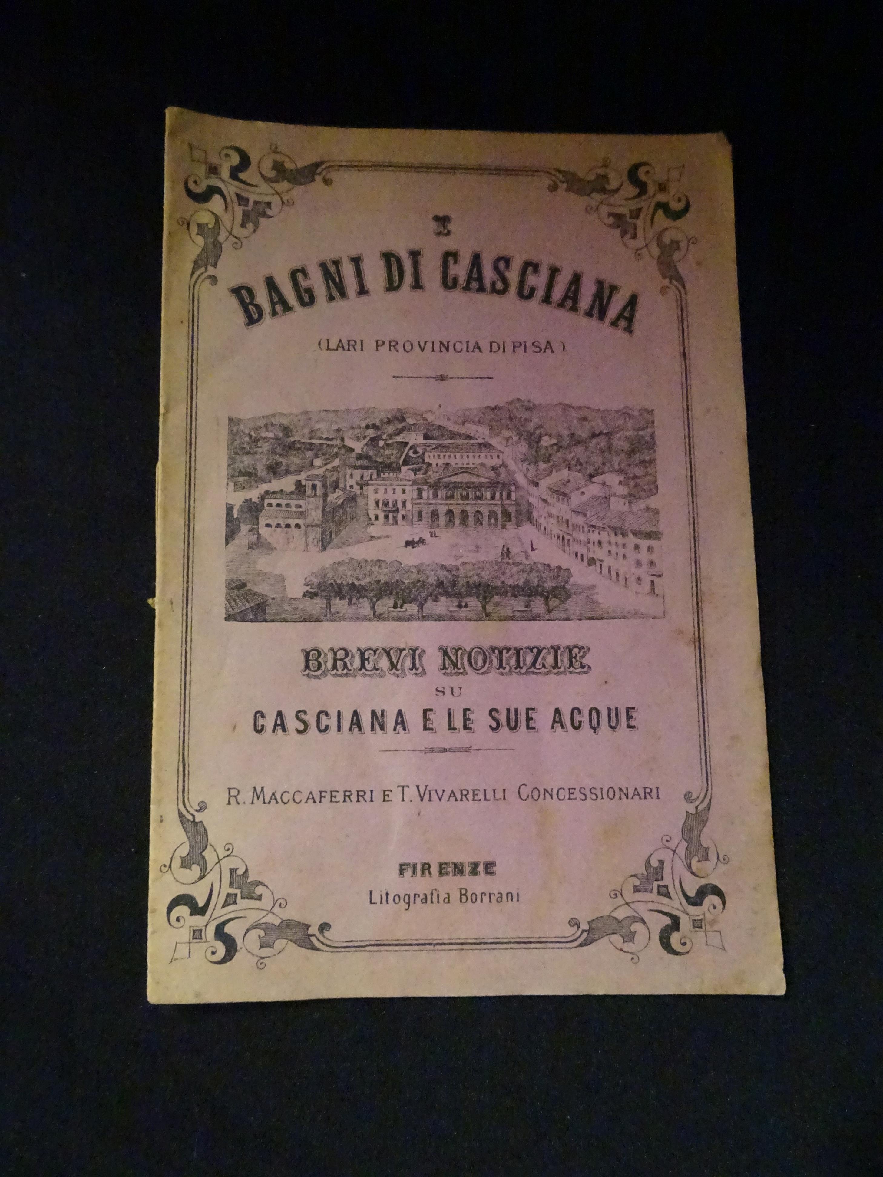 I bagni di Casciana ( Lari provincia di Pisa) Brevi notizie su ...
