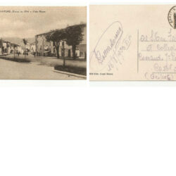 Cartolina ABBADIA S.SALVATORE (Siena ) m.834 – Viale Roma