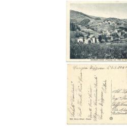 Cartolina Bardalone ( Pistoia ) mt. 750 s.m. – Panorama