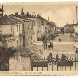 Cartolina Gravellona Lomellina – Piazzale De Lucca