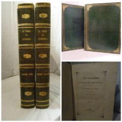 La Svizzera Storica ed Artistica descritta da Giuseppe La Farina ed Illustrata Firenze Luigi Bardi Editore 1842 – 1843 2 Volumi