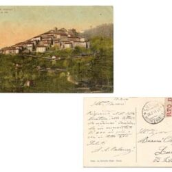 Cartolina Valdinievole illustrata – Pontito – m.800