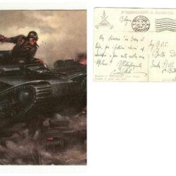 Cartolina Clemente Tafuri – Carristi