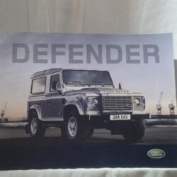Catalogo Land Rover – Defender – 2008
