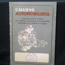 L'allievo automobilista – settima edizione – casa editrice G.Bottoli –Milano – 1933