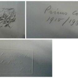 Primo Conti – Incisione numerata e firmata