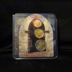 Repubblica di San Marino – 2005 – 2€ -20cent – 2 cent
