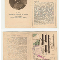 Cartolina Alle truppe della Terza Armata