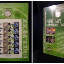 Gedenkmunze– Paket philatelischen 2006 – Moneta Fior di Conio, Foglietto Filatelico 2006