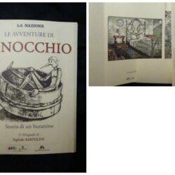 Le avventure di Pinocchio Storia di un burattino – 21 xilografie di Sigfrido Bartolini- La Nazione 1983