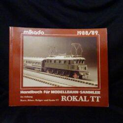 Handbuch der Modellbahn-Sammler ROKAL TT Phönix Verlag, Leun, 1988