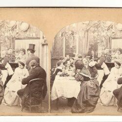Stereoview Une Maison de Paris – Le Rez-de-Chaussèe – Le Restaurant – N°4