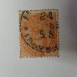 Regno d'Italia – 1879 ( 15 agosto) 2L. vermiglio