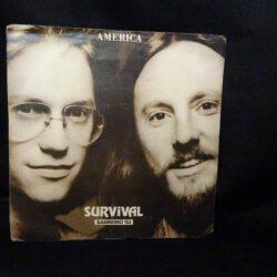 America – Survival – Sanremo '82 – 45 giri