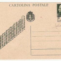 Cartolina intero postale Lire 1,20 C116A II tipo