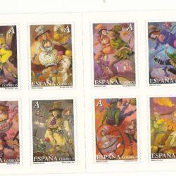 Spagna 2005 Libretto Il circo 3741 nuovo