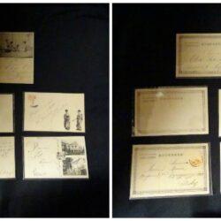 Lotto 5 cartoline Giapponesi Union Postale Universelle