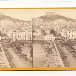 Stereoview Vues dìItalie – Naples – 2