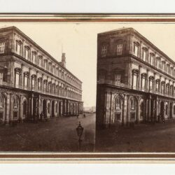 Stereoview – Giorgio Sommer Napoli – Palazzo Real