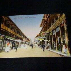 Cartolina 2151 Port Said – Prince faruk Street – Egitto