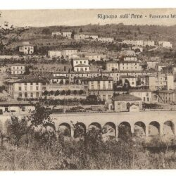 Cartolina Rigano sull'Arno