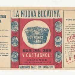 Foglietto pubblicitario La nuova Bucatina – Firenze