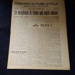 Comando di Fiume D'Italia N°20 Anno I
