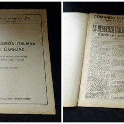 Comando di Fiume D'Italia N°31 Anno I