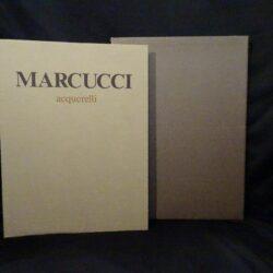 Marcucci – Acquerelli – Edizioni Pananti Firenze 1987 – Edizione limitata