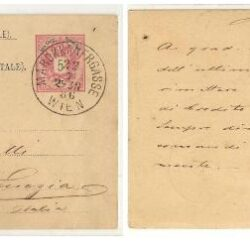 Intero postale Austria
