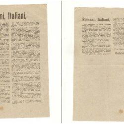 Volantino Romani Italiani