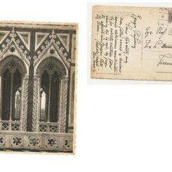 Regno d'Italia cartolina affrancata con 10 cent. Recapito autorizzato, Sassone n°3