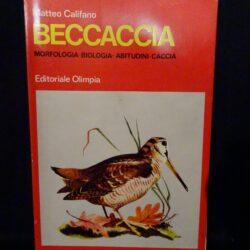 Beccaccia – Matteo Califano – editoriale Olimpia – 1971