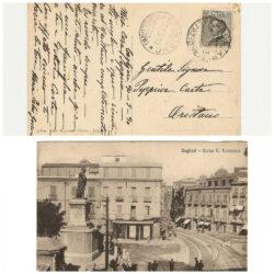 Cartolina Cagliari – Corso V. Emauele