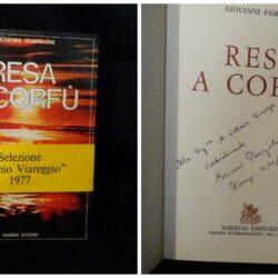 Resa a Corfù – Pampaloni Giovanni  – Nardini editore Firenze 1976 dedica e autografo