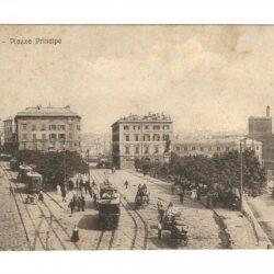Cartolina Genova – Piazza  Principe