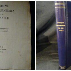 Poggio Carlo – Lezioni d'astronomia per le dame Tomo 1 – Lucca Francesco Bertini 1808