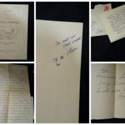 """Onofrio Martinelli – Luigi russo – Alla Galleria """"La Campanella"""" Monopoli – Officine Grafiche A.de Roberts & F. Putignano 1966"""