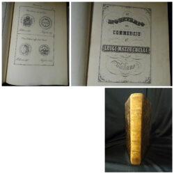 Mazzuchelli Luigi –  Il monetario del commercio – Milano 1846 ca.