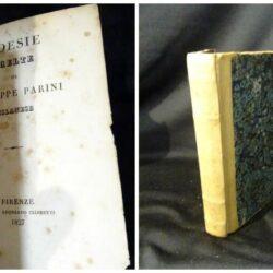 Poesie scelte – Giuseppe Parini Milanese – Firenze Leonardo Ciardetti 1827