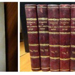 Saggi e scritti critici – Francesco de Sanctis – Vol. 1-8 – Edizioni Barion 1937