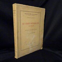 Le acque sotterranee in Italia – Pubblicazione N°18 del Servizio Idrografico –  Roma Istituto Poligrafico dello Stato Libreria – Roma 1935