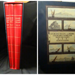 Campi Phlegraei Observations on the Volcanos of the Two Sicilies. As They have been communicated to the Royal Society of London – Sir Hamilton William –  Naples 1776/ – Reprint 1990 Leonardo Editore Milano –  Vol.1-2+supplemento