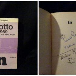 Isolotto 1954 1969 – Don Enzo Mazzi – Laterza 1969 autografato
