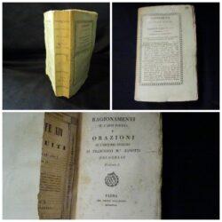 Ragionamenti sull'arte poetica Francesco Maria Zanotti – Volume unico – Parma 1829