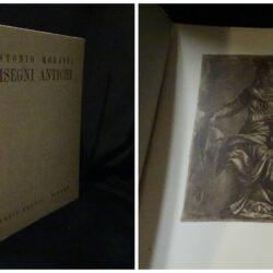 Antonio Morassi – Disegni Antichi – Hoepli Milano 1937 – Esemplare N°281