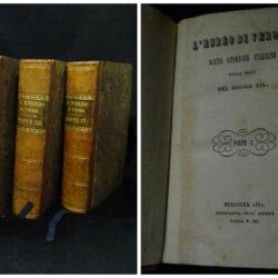 L'ebreo di Verona scene storiche italiane nella meta del secolo XIX – Bologna 1850 Vol. 1- 4