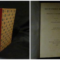 Gli evangelii sinottici Realtà o invenzione?  Studi di Raffaele Mariano – Seconda Edizione –  Roma 1896