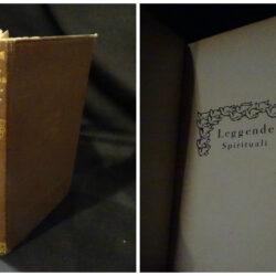 Leggende spirituali – G. Vitaletti – G. Carabba Lanciano 1925