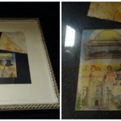 Quadro in cornice immagine Santa Rila – Artista Carlo Severa